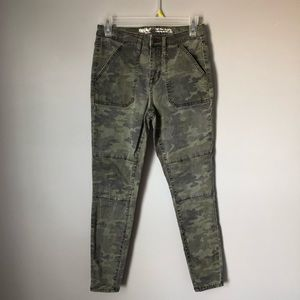 Camo High Rise Jeggings